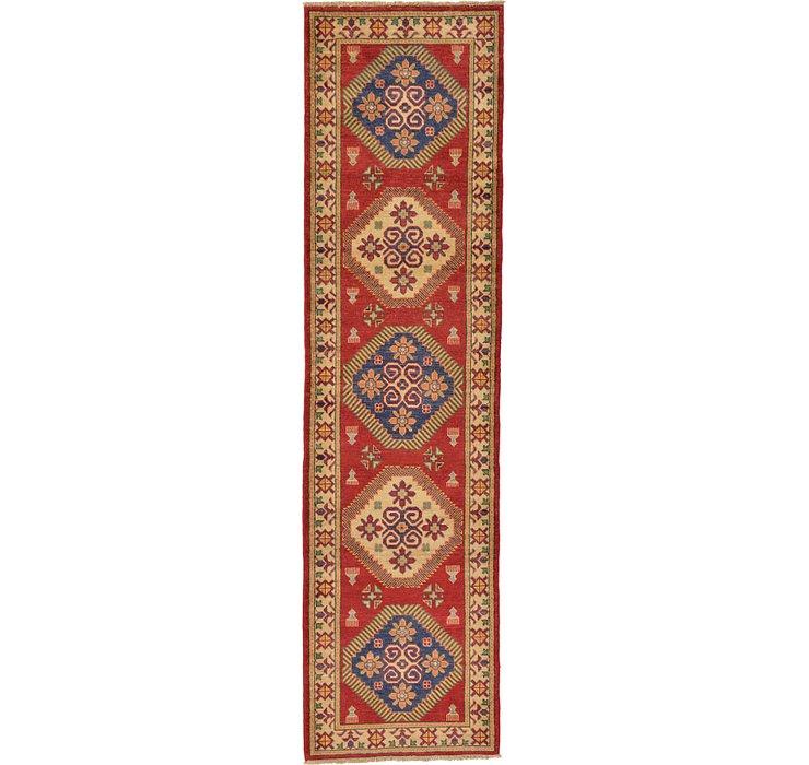 2' 10 x 10' 8 Kazak Oriental Runner Rug