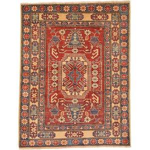 Unique Loom 3' 7 x 4' 8 Kazak Oriental Rug