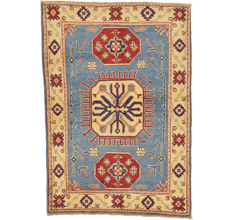 3' 4 x 4' 9 Kazak Oriental Rug