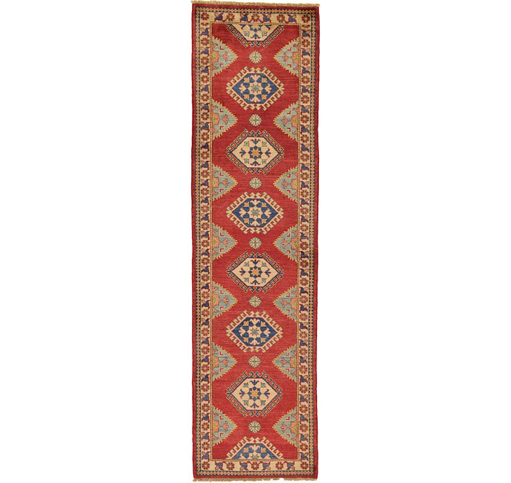 2' 10 x 10' 4 Kazak Oriental Runner Rug