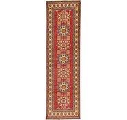 Link to 90cm x 302cm Kazak Oriental Runner Rug