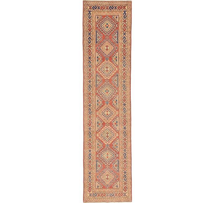 2' 9 x 10' 11 Kazak Oriental Runner Rug
