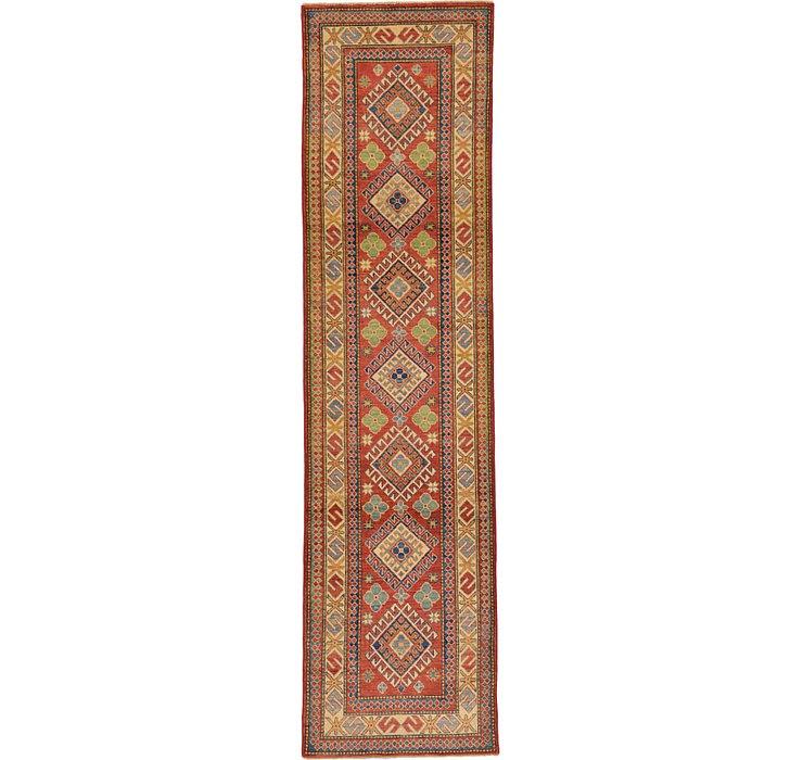 2' 9 x 10' 7 Kazak Oriental Runner Rug