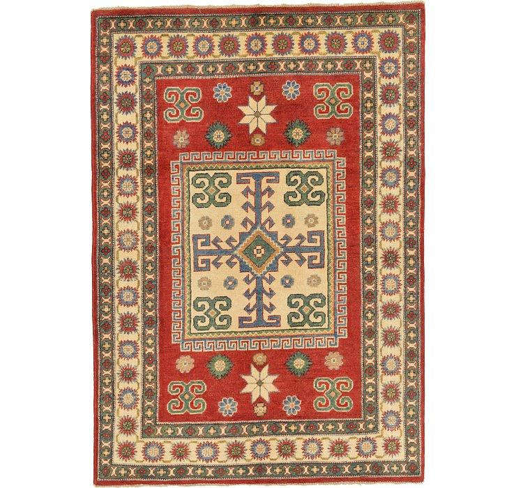 4' 2 x 5' 11 Kazak Oriental Rug