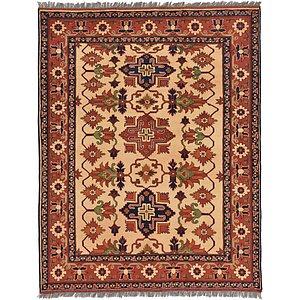 5' 1 x 6' 5 Kazak Oriental Rug