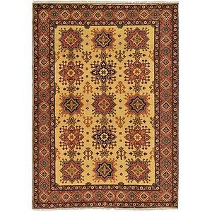 6' x 8' 4 Kazak Oriental Rug