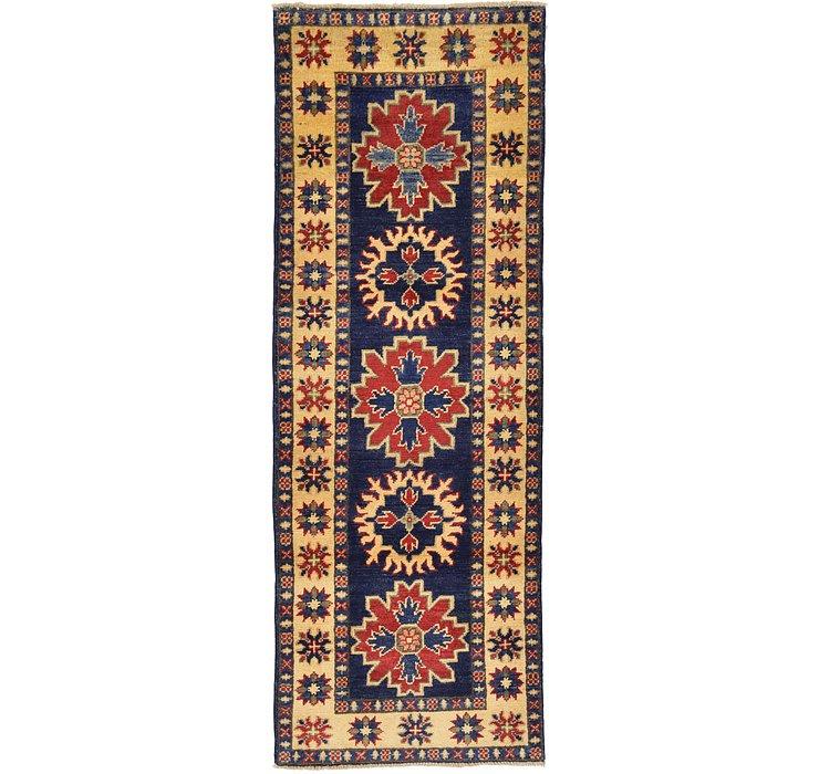 2' x 5' 6 Kazak Oriental Runner Rug