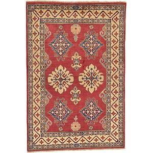 4' 2 x 6' 3 Kazak Oriental Rug