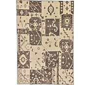 Link to 6' 7 x 9' 8 Patchwork Rug