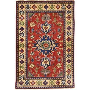 3x5 Red Kazak  Rugs