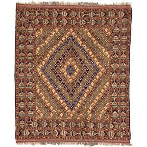 5' 3 x 6' 3 Kazak Oriental Rug