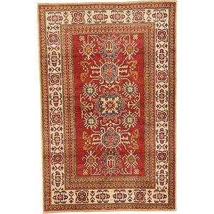 Unique Loom 3' 9 x 5' 9 Kazak Oriental Rug