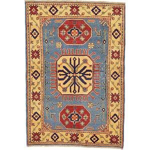 Unique Loom 3' 4 x 4' 9 Kazak Oriental Rug
