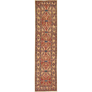 2' 8 x 10' 10 Kazak Oriental Runner Rug