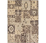 Link to 5' 8 x 8' Patchwork Rug