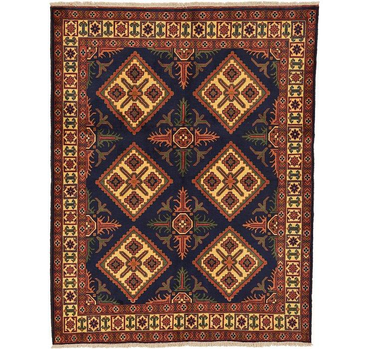 5' 2 x 6' 7 Kazak Oriental Rug