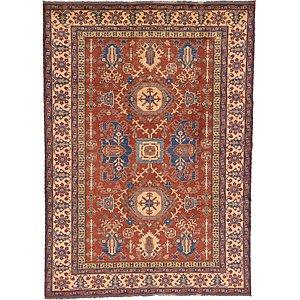 8×11 Orange Kazak  Rugs
