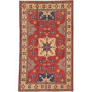 Unique Loom 5' 4 x 8' 10 Kazak Oriental Rug