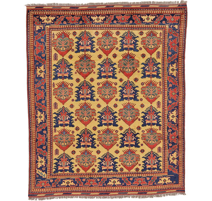 9' x 10' 8 Kazak Oriental Rug
