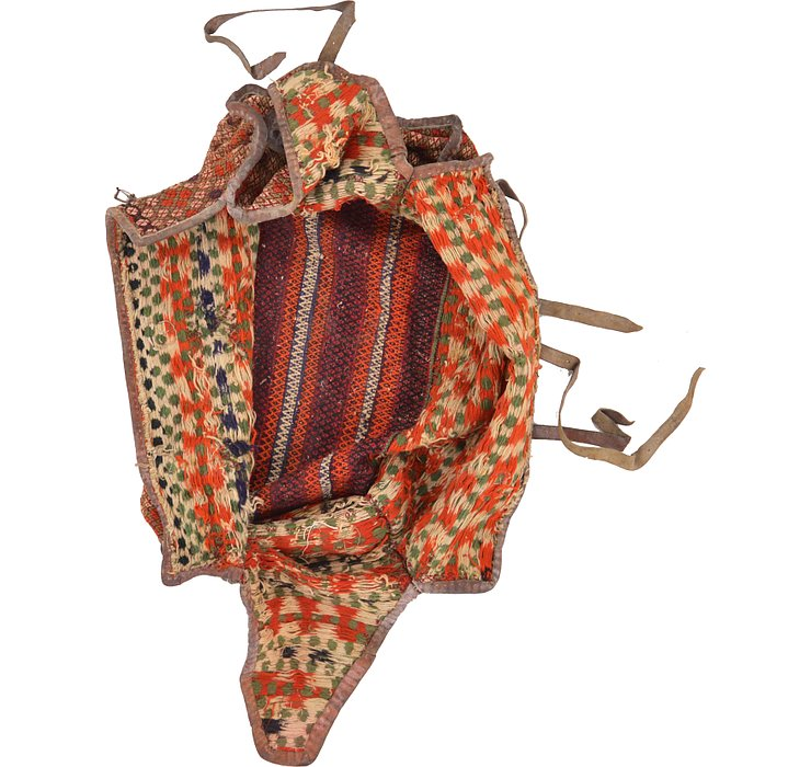 4' 5 x 7' Saddle Bag Rug