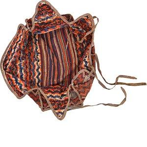4' 8 x 7' 3 Saddle Bag Rug