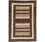 Link to Unique Loom 6' 6 x 9' 7 Modern Ziegler Rug