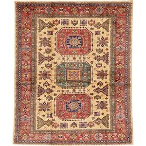6' x 7' 3 Kazak Oriental Rug