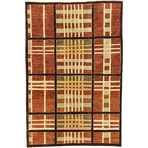 Unique Loom 3' 10 x 5' 10 Modern Ziegler Rug