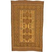 Link to 5' 8 x 9' Kilim Suzani Rug