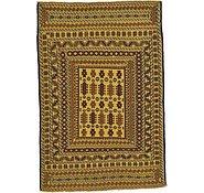Link to 4' 5 x 6' 6 Kilim Afghan Rug