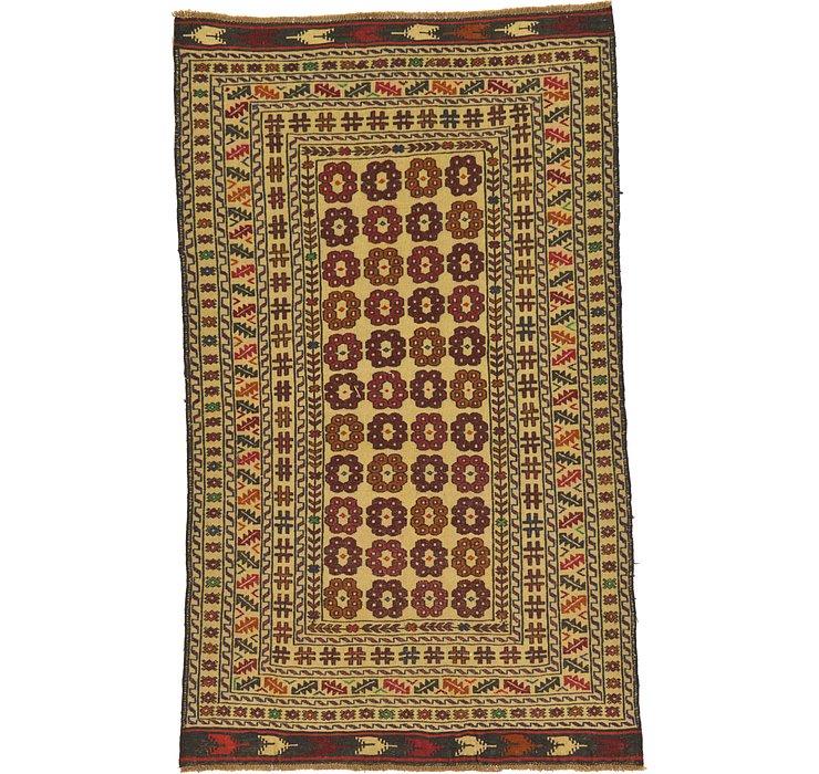 3' 10 x 6' 3 Kilim Afghan Rug