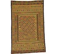 Link to 4' x 6' 3 Kilim Afghan Rug