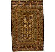 Link to 122cm x 190cm Kilim Afghan Rug