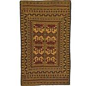 Link to 4' x 6' 6 Kilim Afghan Rug