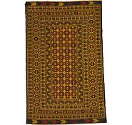 Link to 122cm x 193cm Kilim Afghan Rug