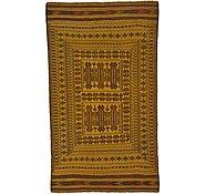 Link to 3' 9 x 6' 6 Kilim Afghan Rug