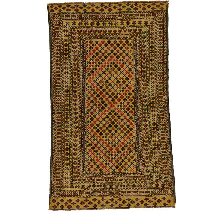 4' x 6' 8 Kilim Afghan Rug