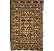 Link to 4' 3 x 6' 3 Kilim Afghan Rug