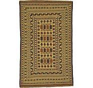 Link to 4' 2 x 6' 9 Kilim Afghan Rug