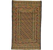 Link to 3' 9 x 6' 3 Kilim Afghan Rug