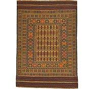 Link to 4' 4 x 6' 4 Kilim Afghan Rug