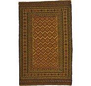 Link to 4' 2 x 6' 5 Kilim Afghan Rug