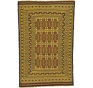 Link to 4' 2 x 6' 3 Kilim Afghan Rug