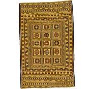 Link to 4' x 6' 2 Kilim Afghan Rug