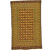 Link to 3' 8 x 6' Kilim Afghan Rug