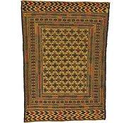 Link to 4' 7 x 6' 3 Kilim Afghan Rug
