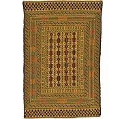 Link to 4' 4 x 6' 5 Kilim Afghan Rug