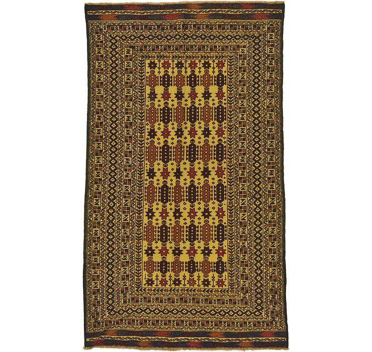 122cm x 203cm Kilim Afghan Rug