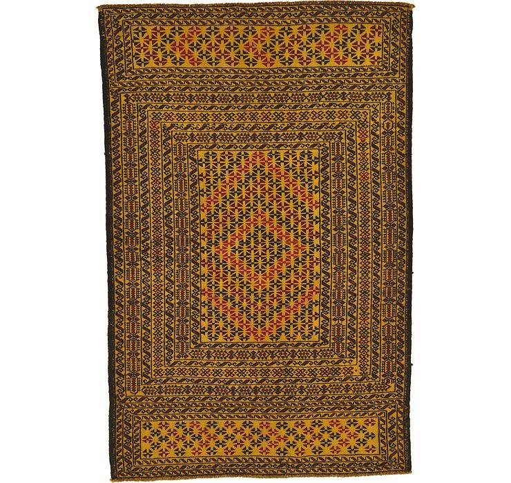 3' 10 x 5' 9 Kilim Afghan Rug