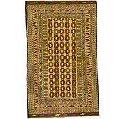 Link to 3' 10 x 6' 3 Kilim Afghan Rug